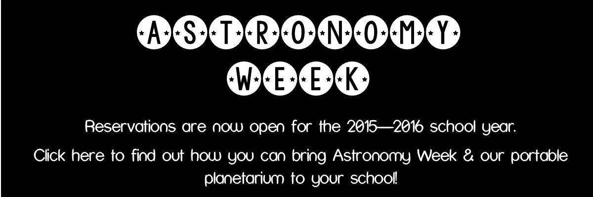 Astronomy Week Banner